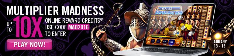 Play Multiplier Madness online slot at Casino.com UK