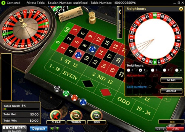 Roulette betting on cold numbers