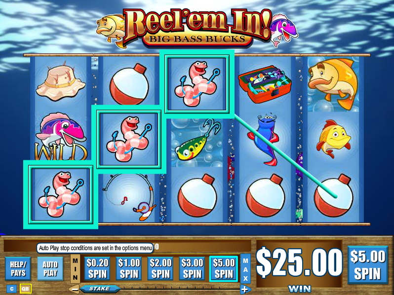 Reel em in slot wins free poker website templates